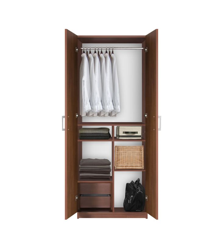 Bella Wardrobe Closet   Hanging Plus Organized Wardrobe Storage