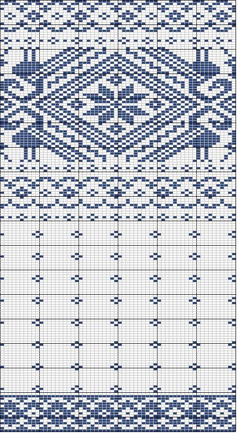 FairIsle knitwear chart