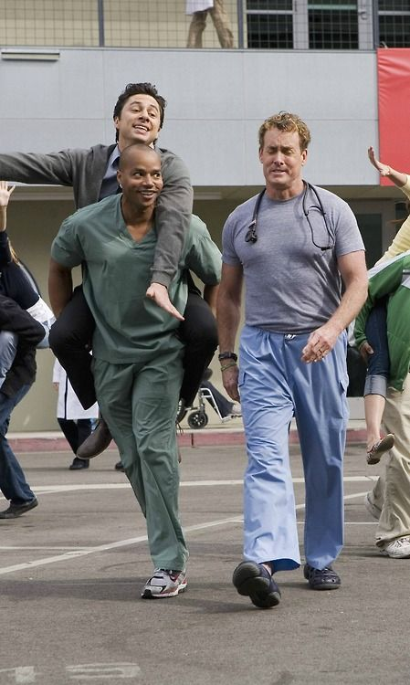 I have never seen a picture that represented this entire show more than this. // scrubs