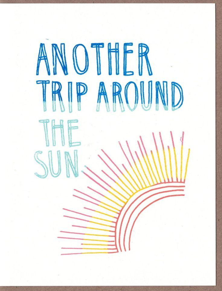Park Art|My WordPress Blog_Trip Around The Sun Birthday Song