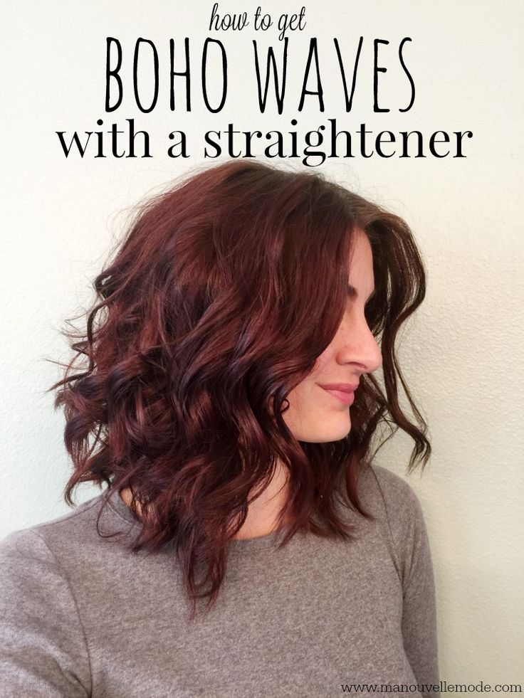 Learn how to create these cute boho waves with a straightener and the perfect hairspray! It hold well without feeling crunchy & creates volume and still keeps your hair touchable! WalmartWinterBeauty AD