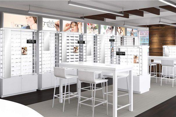 Professional Eyewear Display Units Merchandising Eyewear Shop Design 1 Store Design Interior Retail Store Interior Design Shop Interior Design