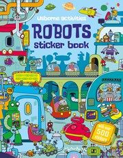 Robots sticker book 5+