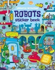 Robots sticker book 5+