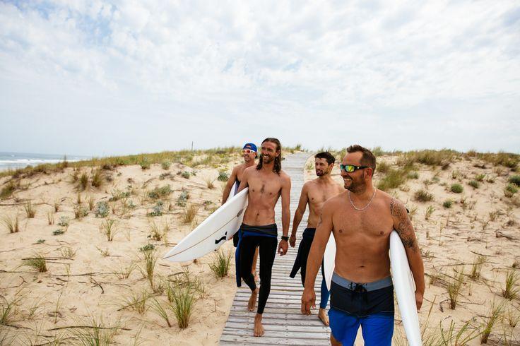 Surf entre potes au Truc Vert