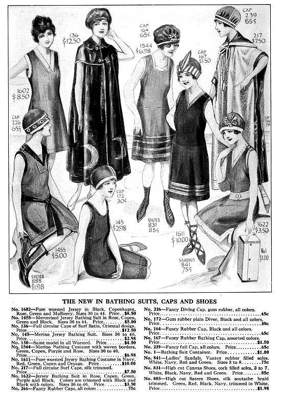 1920's bathing suits