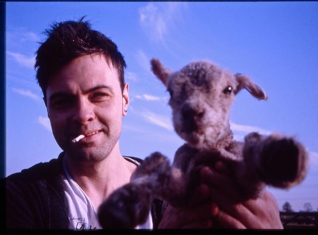 Ian and Lamb by Thomo_Stoneo, via Flickr