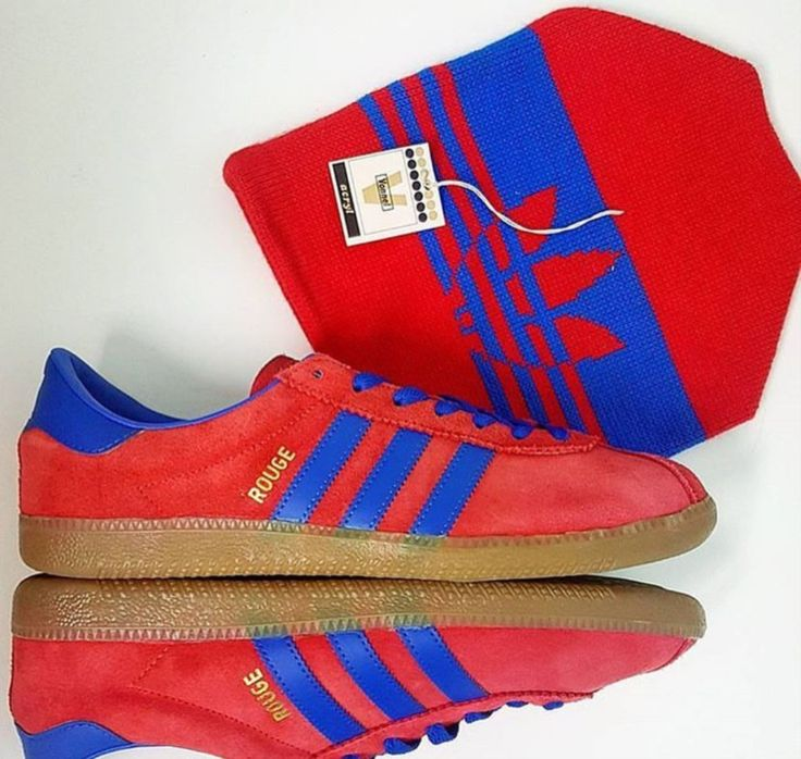 Adidas Rouge and a matching beanie made in Sweden in the 70's