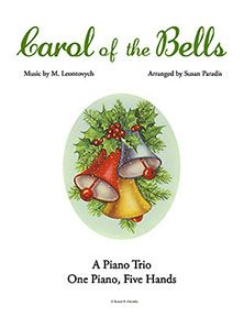 Now your elementary to late elementary students can enjoy a trio version of Carol of the Bells for one piano, five hands! This accessible, yet exciting piece sounds much harder than it is, and is p...