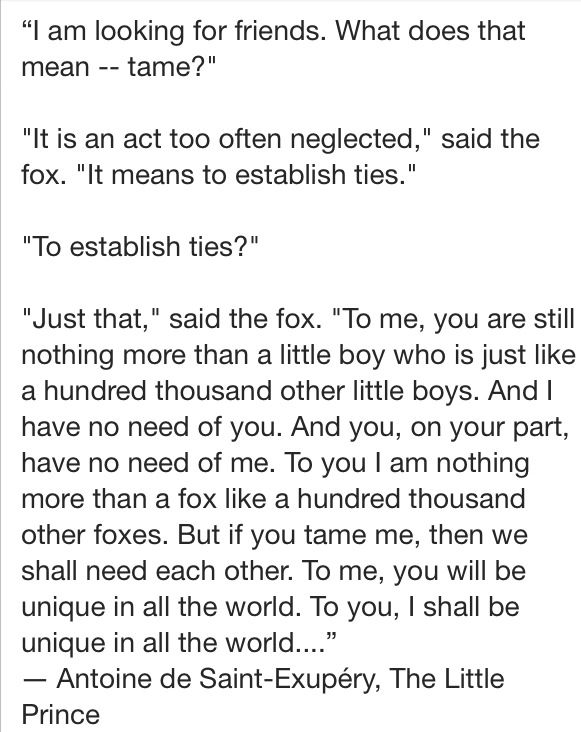 my favorite quote from the little prince by antoine de saint
