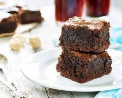 Brownies au chocolat au micro ondes Ingrédients
