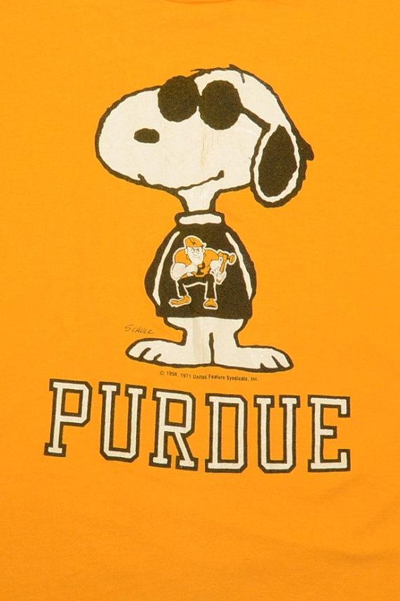 Retro Purdue Snoopy T-shirt.  Thinkin Hayden :~)