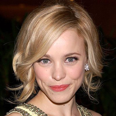 Rachel McAdams - such a gorgeous lady! Love her. And her hair and makeup in this photo.