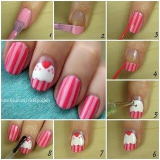 This is a cute and easy nail desighn.