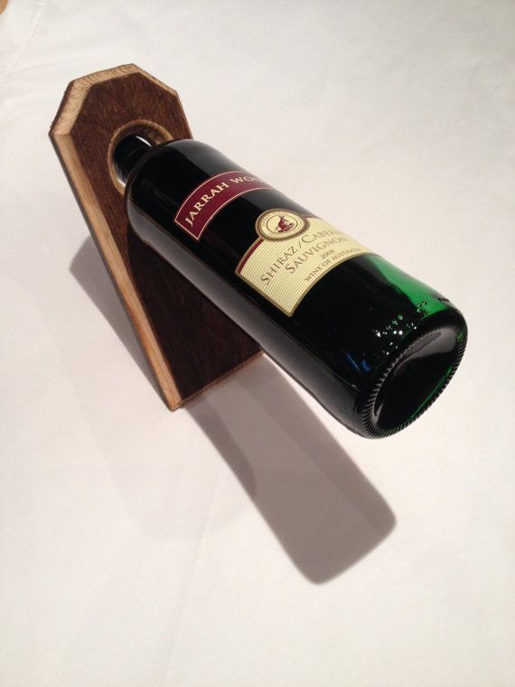 149 best wine bottle balancer images on pinterest wine bottles wine bottle holders and wine rack - Wine rack shaped like wine bottle ...