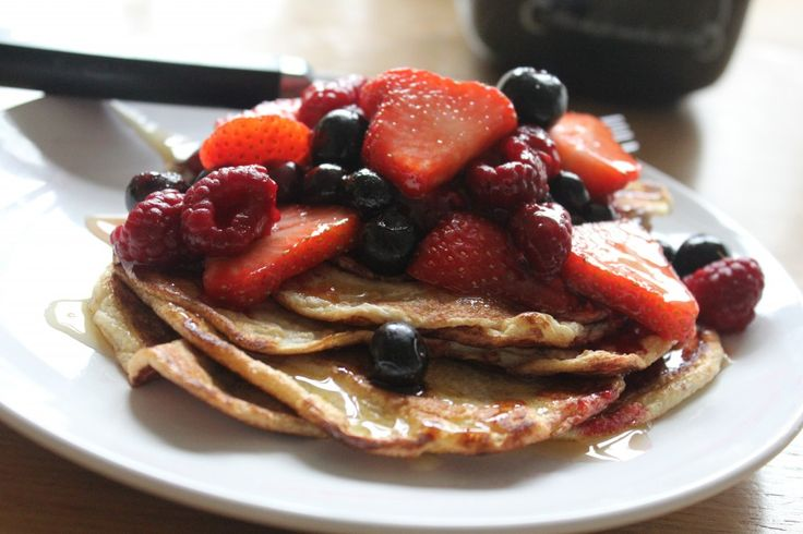 Flourless pancakes. Slimming World, gluten free, vegetarian, dairy-free. All you need is eggs.