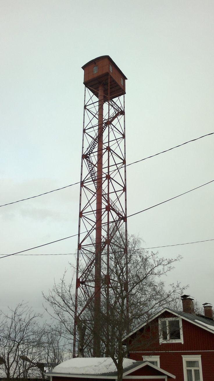 Haulitorni - voiko tänne kiivetä?