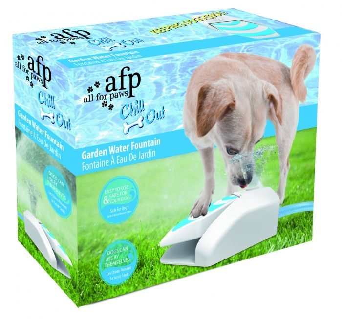 This is great for outside when your dog is thirsty! All you have to do is attach it to your hose outside, and the dog pushes down for water access!
