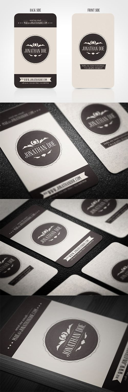 93 best 80 awesome vintage business cards images on pinterest want to learn how to create amazing business cards download for free the complete reheart Choice Image