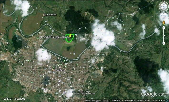 SE VENDE LOTE DE 57.600 METROS2 SECTOR PUERTO CALDAS DEL MUNICIPIO DE PEREIRA-RISARALDA-COLOMBIA TIPO DE NEGOCIO: VENTA PRECIO$ 70.000 PESOS METRO2. DESCRIPCION DEL SECTOR: Son dos Lotes ubicados en la MARINA, en el Corregimiento de Puerto Caldas de la ciudad de Pereira, limítrofe con el Municipio de Cartago- Valle Del Cauca, lote para inversionistas, Empresarios, Fábricas, Industrias. Por sus cercanías, treinta minutos al Aeropuerto Internacional de Matecaña de Pereira y cinco minutos de…