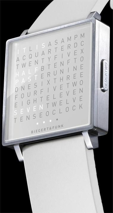 Qlocktwo W Time in Words -White watch is now available on Watches.com. Free Worldwide Shipping & Easy Returns. Learn more.