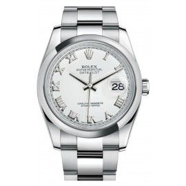 Rolex Oyster Perpetual Datejust 36 acier romain 116200-0055