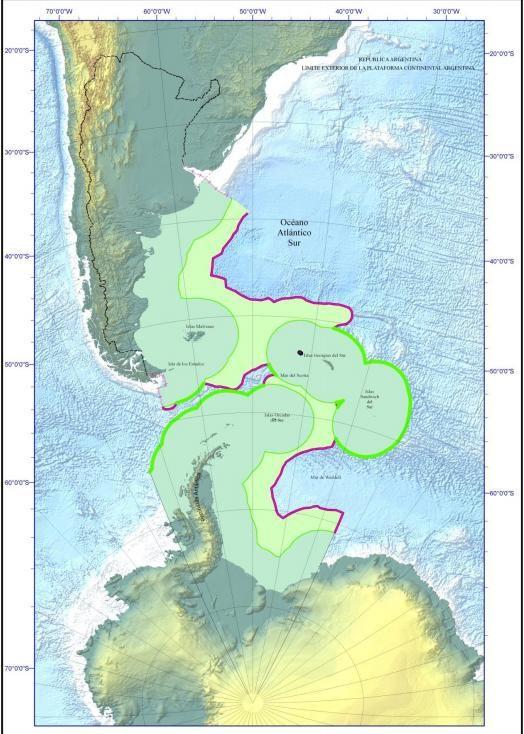 soberania sobre el mar argentino proyecto COPLA milla 300