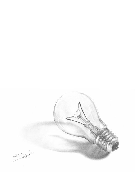 This is a great example of a high key value drawing of an interesting object that we all have access to.  The strong lighting is an important factor in the success of this piece.