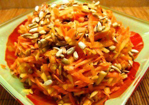 Салат «Здоровье» - рецепт овощного салата