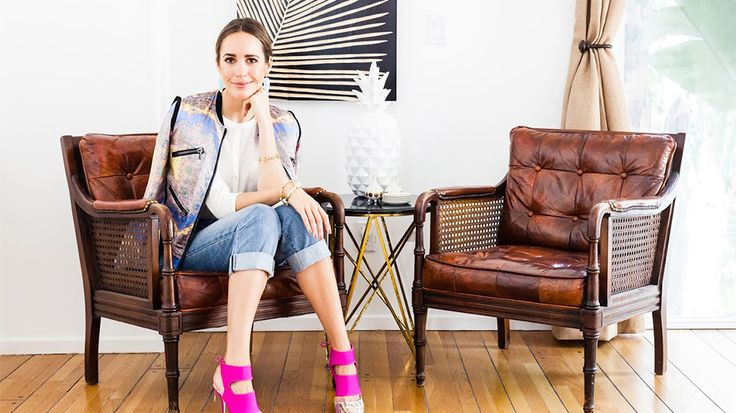 Louise Roe Unveils a Major Home Décor Sale with Hunters Alley to curate a collection of bohemian chic finds: Gray Design, At Home, Decor Dreams, Roe Unveiled, Chairs Amp, Home Decor, Louis Roe, Leather Chairs, Louise Roe