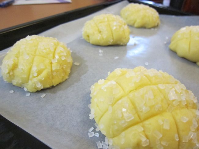 Melon pan recipe - How to make Japanese Melon bread (melon ban)