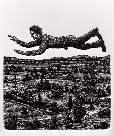 David Frazer Wood Engraving