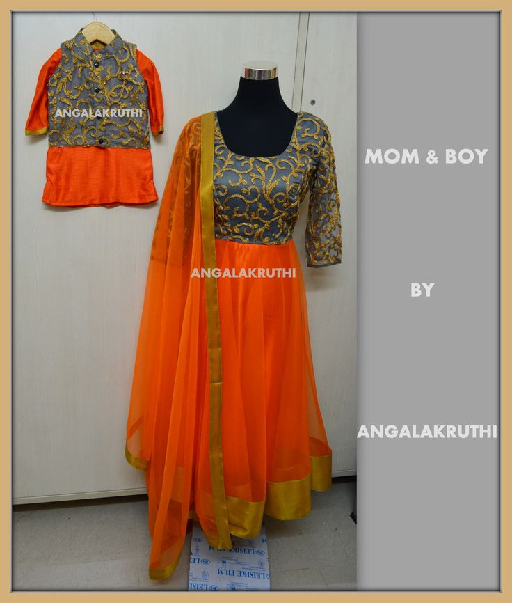 Mom and boy designs by Angalakruthi-Ladies and kids boutique in Bangalore