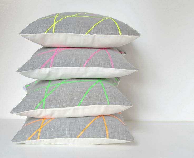 Neon designs pillow cover 18 x 18 inches, Mikado Collection by PALEOLOCHIC on Etsy https://www.etsy.com/listing/180777463/neon-designs-pillow-cover-18-x-18-inches