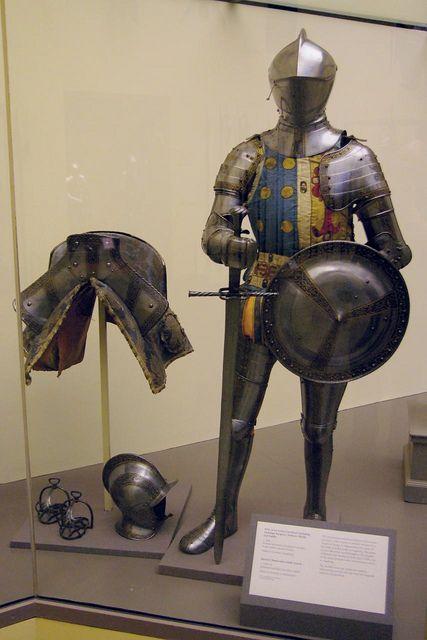 Armadura que fue de Don Sancho de Ávila - 1560