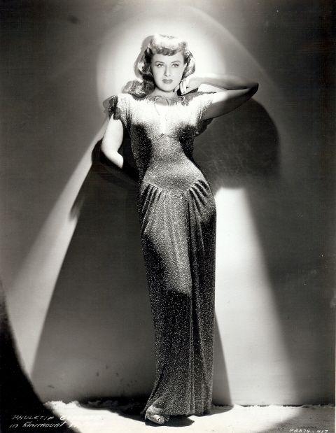 Paulette Goddard in'Second Chorus',1940.