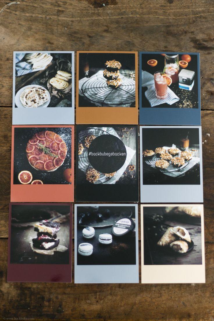 Polaroid pics with colourful frames. Perfect home decoration #squaredone