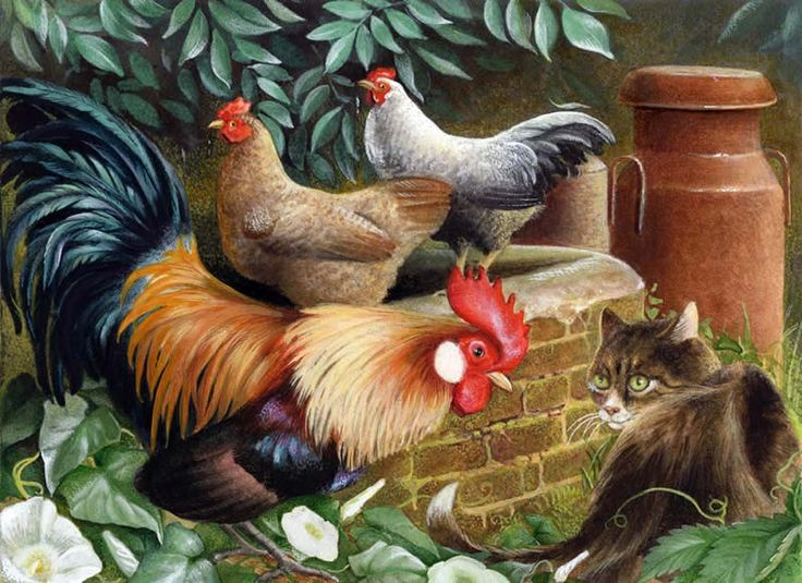 Folio illustration agency, London, UK | Diz Wallis - Painterly  - Illustrator