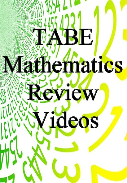 21 best tabe test study guide images on pinterest study guides exam review math help learn math mathematics exploring test video videos free study guides fandeluxe Choice Image