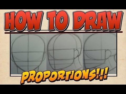 Lezioni di disegno - Proporzioni Viso