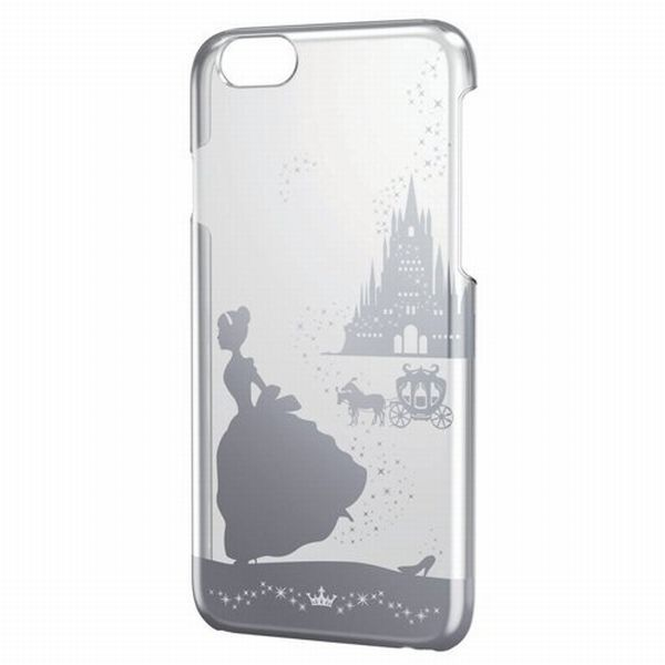 Disney Cinderella2 iPhone6 4.7inch iphone clear hard case cover Japan New F/S