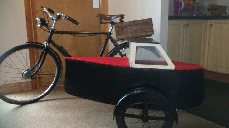 1930's Sandum sidecar