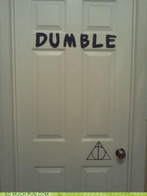 Oh i see what you did there: Geek, Nerd, Laughing, The Doors, Awesome, Harry Potter Funny, Dumbledoor, Giggl, Dumbl Doors