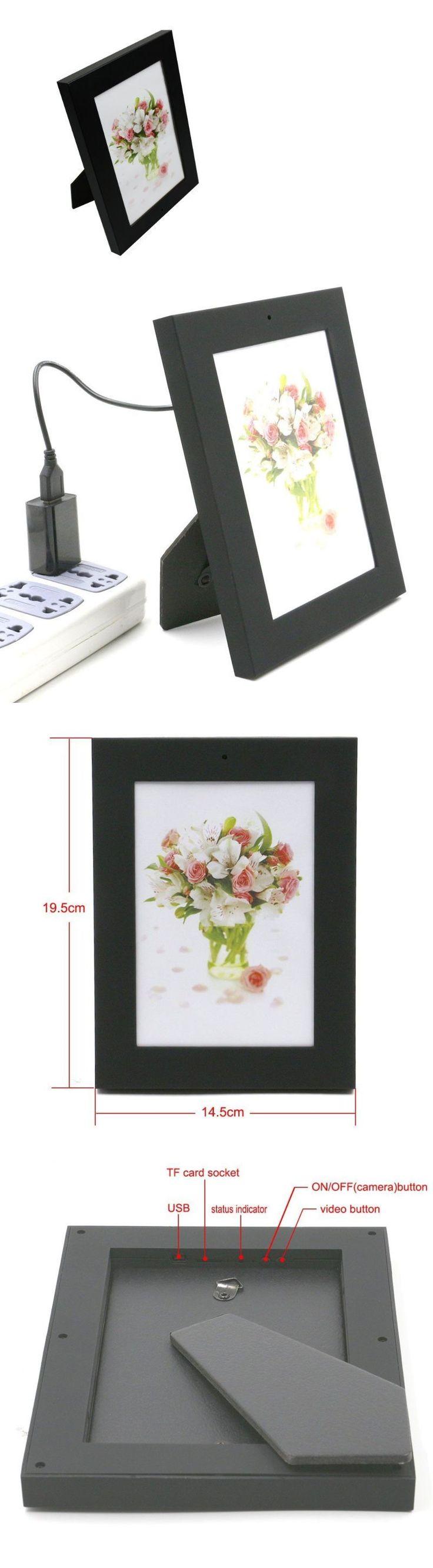 Surveillance Gadgets: Picture Frame Hidden Nanny Spy Hd Video Camera ...