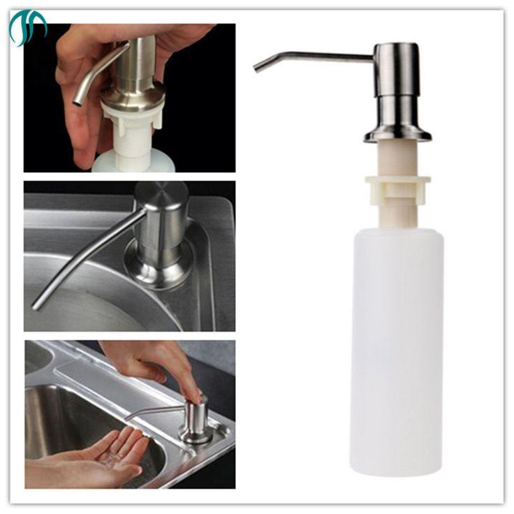 Hand Soap Dispenser Sink Soap Dispenser Pump Mount Lotion Kitchen Liquid  Dispenser Accessory Plastic Kitchen Soap