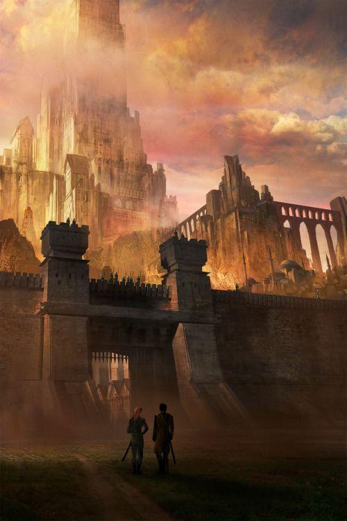 Meren, A Cidade dos Caçadores de Bruxas , Reino de Aveloth - Larkadian.