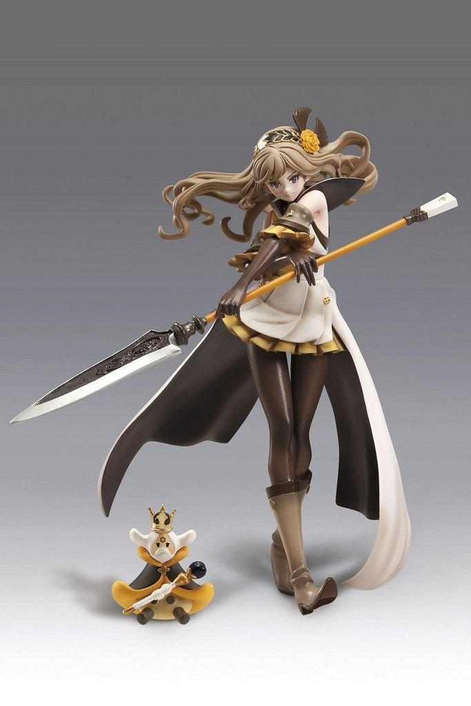"""Deagostini Japan Presents you the 1/8 scale SAMATHA PVC STATUE from the World of Video Game """"TERA BATTLE"""" which was created by Mr. Hironobu Sakaguchi who is also known as the creator of the Final Fant"""