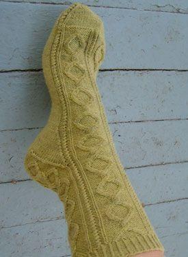 Cirque Socks - Free Knitting Patterns by Sarah Wilson