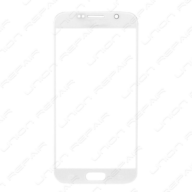 Replacement for Samsung Galaxy S6 Front Glass Lens - White