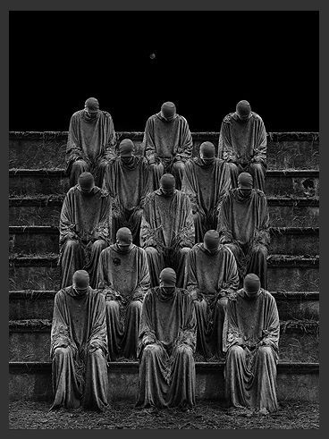 CROWD 25 by Misha Gordin   Memories  Concealed in pillars of the past  Like  bridge between  the distant thoughts  like silent dance of warmth and sadness  In lonely journey of the soul.
